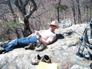 Teddy At The Glass Hollow Overlook by k.reynolds70 in Faces of WhiteBlaze members