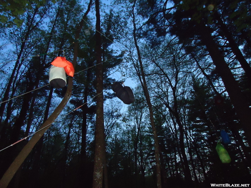 Stover Creek Shelter - Saturday 04/30/11