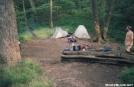 Cody Gap Camping by fatmatt in Tent camping