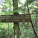 Goose Pond Area Sign by lemon b in Trail and Blazes in Massachusetts