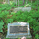 Land Gift Marker on AT by lemon b in Trail and Blazes in Massachusetts