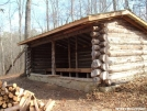 woodland trail shelter gets a face lift