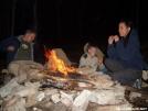 smores around the campfire