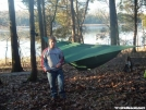 hank and his hammock by neo in Hammock camping