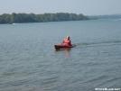 yaking on da lake