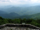 View_From_Tower_On_Wayah_Bald by msthiker in North Carolina &Tennessee Trail Towns