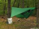 My camp at NJ Mashapicong shelter by BigToe in Hammock camping
