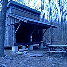Cove Mountain Shelter. by no-name in Maryland & Pennsylvania Shelters