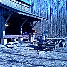 Cove Mountain Shelter.