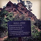 Angel's Landing - Zion by bwillits in Day Hikers