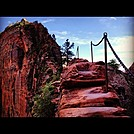 Step of Faith - Angel's Landing - Zion by bwillits in Day Hikers