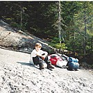 Aaron climbing Old Speck Mtn. by coach lou in Views in Maine