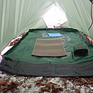 DIY Bathtub floor for the Hooch by coach lou in Tent camping