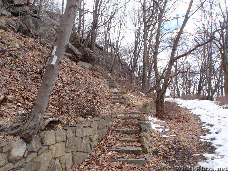North Bound Staircase to Bear Mtn
