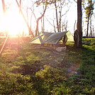 Sunset on the Hootch by coach lou in Tent camping