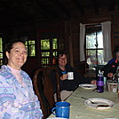 Three Babes I slept with at Upper Goose Pond Cabin by coach lou in Section Hikers