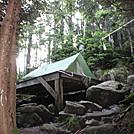 Kinsman pond Campsite
