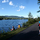 Last leg of Biathalon by coach lou in Views in Massachusetts