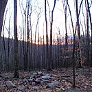 Sunrise from Sherman Brook Campsite