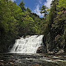 Laurel Fork Falls by BlackCloud in Trail & Blazes in North Carolina & Tennessee