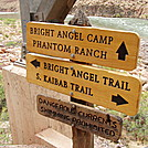 Bottom of Bright Angel Trail by fantomhockey in Other Trails