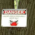 Unexploded Ordinance Keep Out by cabbagehead in Views in New Jersey & New York