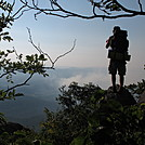 dirty d.  looking over a smokey SNP in 2012 by Mike2012 in Thru - Hikers