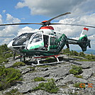 Rescue helicopter at Mt Monadnock by Koozy in Other Trails