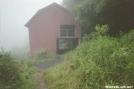 Overmountain in the rain