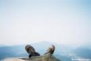 Tinker Cliffs toward McAfee Knob by Tractor in Views in Virginia & West Virginia