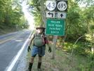 2008 Section Hike - Fat Man Walking At Bearwallow Gap Va by Fat Man Walking in Section Hikers