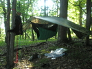 2008 Section Hike - A Hiker's Hang Out by Fat Man Walking in Hammock camping