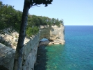 Pictured Rocks Arch by Happy Feet in North Country NST