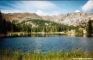Porcupine Lake on Colorado Trail