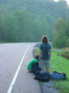 Hitch-hiking In Vermont by Jeremy in Views in Vermont