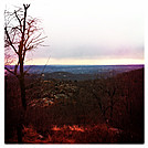 View from West Mountain Shelter, Feb 18, 2012 by GrassyNoel in Trail & Blazes in New Jersey & New York
