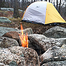 Camped at West Mountain Shelter, Feb 18, 2012 by GrassyNoel in Trail & Blazes in New Jersey & New York