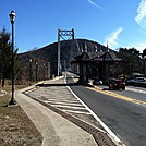 Bear Mountain Bridge, February 19, 2012
