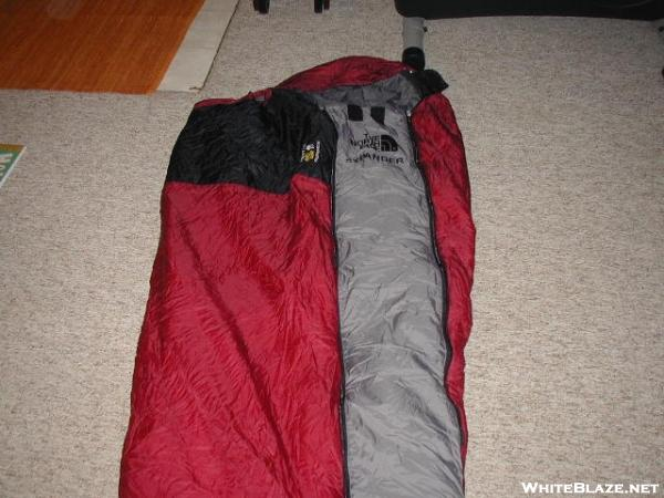 TNF expander panel with MH X-country PG3D bag