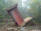 The Leaning Privy by anneandbenhike in Virginia & West Virginia Shelters