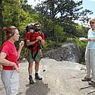 Stats, talking w/Linda and Deb @Tinker Cliffs, Virginia
