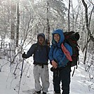 John and son, Jack in Feb. 2013 on Blood Mt. by John Amoss in Faces of WhiteBlaze members