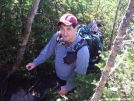 Hikerhead (aka, Hokey Pokey) climbing Little Haystack