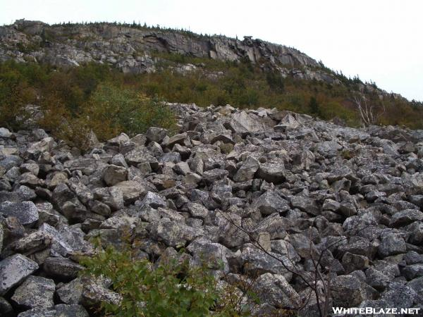 Whitewall Mtn. Rock Slide