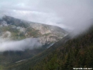 Crawford Notch through the Fog by Kerosene in Views in New Hampshire