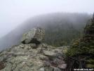 Blaze atop Webster Cliffs in the Mist by Kerosene in Trail & Blazes in New Hampshire