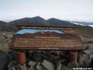 Sign for the Northern Presidential Range