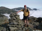 Hokey Pokey with North Presidentials Behind by Kerosene in Section Hikers