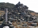 Cairn at Thunderstorm Junction by Kerosene in Trail & Blazes in New Hampshire