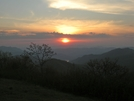 Sunset From Siler's Bald (mid-sunset)